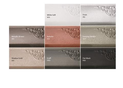 Farby Terma - liatinové radiátory - špeciálne farebné prevedenia 1