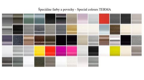 Farby Terma - špeciálne farby - paleta