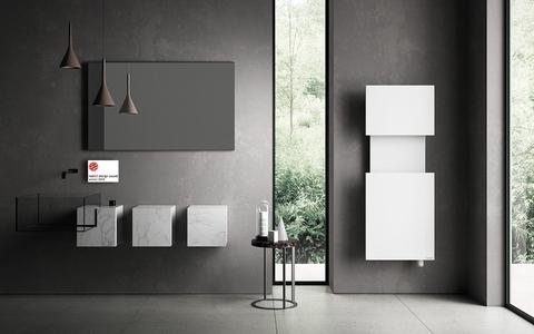 IRSAP M'ama kúpeľňový radiátor dizajn a funkčnosť
