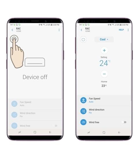 SmartThings prehľadná aplikácia