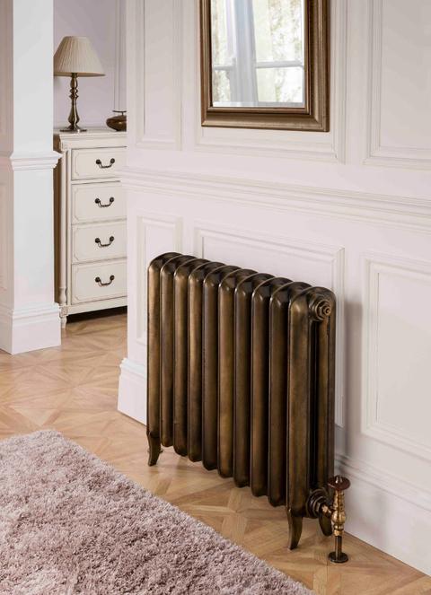 Farby Terma - liatinové radiátory - Plain - farba Antique Brass
