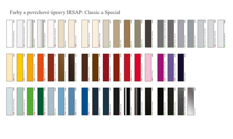 Farby Irsap - Farby Classic a Special