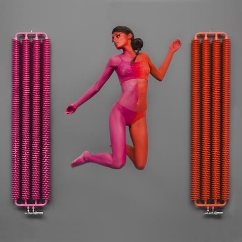 TERMA Ribbon V retro radiátor