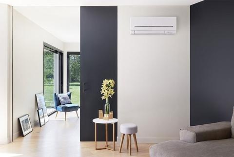 Nástenná klimatizácia Mitsubishi MSZ-AP design dizajn interiér