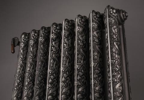 Farby Terma - liatinové radiátory - Kaszub - detail