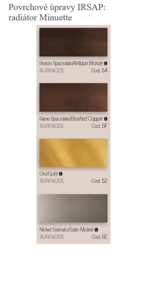 Farby Irsap - Povrchové úpravy - Minuette