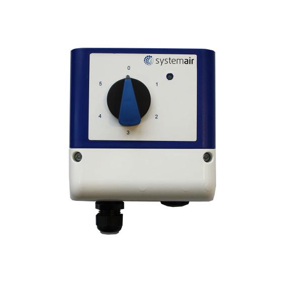 Systemair S-5EC/FRQ prepínač pre EC ventilátory