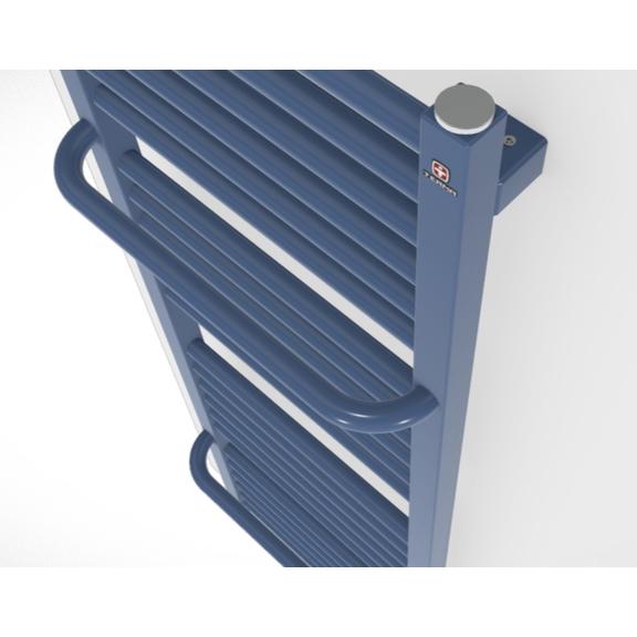 TERMA Lima kúpeľňový radiátor detail zboku