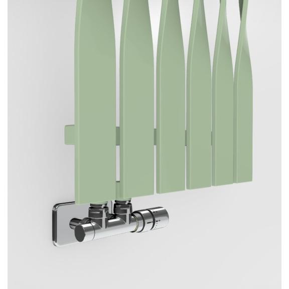 TERMA Cyklon V dizajnový radiátor -  farebné prevedenia RAL6019