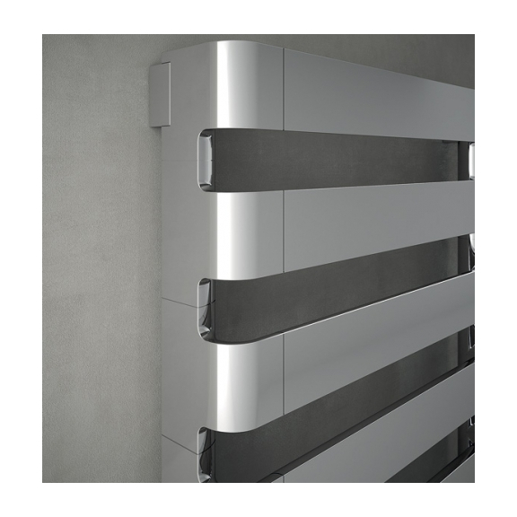 IRSAP Step B kúpeľňový radiátor detail Chróm