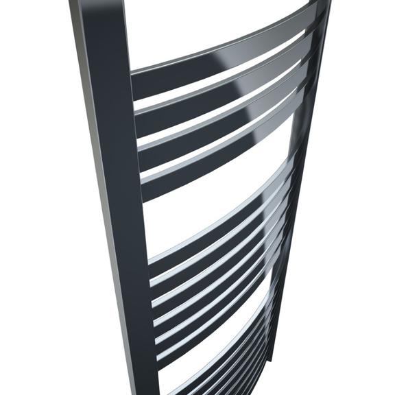 TERMA Dexter elektrický kúpeľňový radiátor 1200x500 farba Chróm