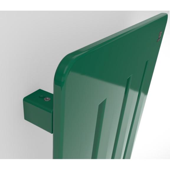 TERMA Aero V dizajnový radiátor - rôzne farebné prevedenia RAL6016 detail