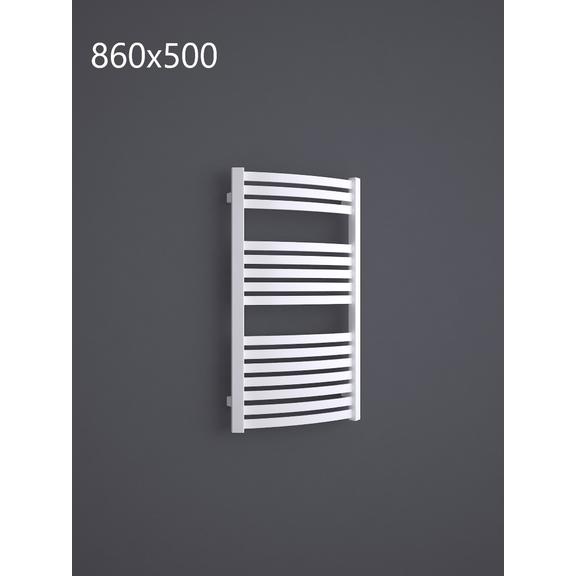 TERMA Dexter kúpeľňový radiátor RAL9016 860x500