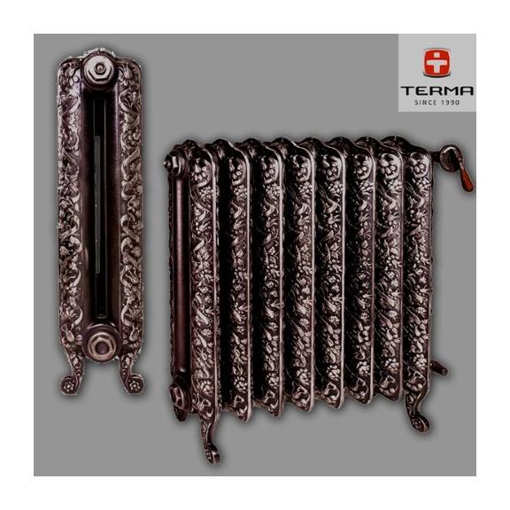 TERMA Kaszub jedinečný dizajnový radiátor