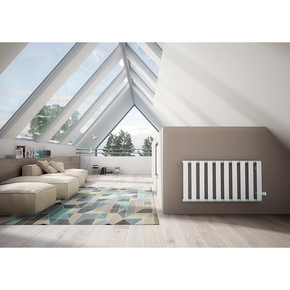 IRSAP Step V dizajnový radiátor  600x1150 farba Pearl White