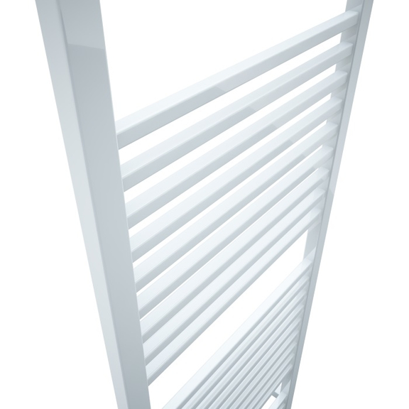TERMA Bone kúpeľňový radiátor 1510x600 - Ral 9016 detail
