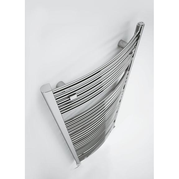 TERMA Domi kúpeľňový radiátor  - pohľad zhora