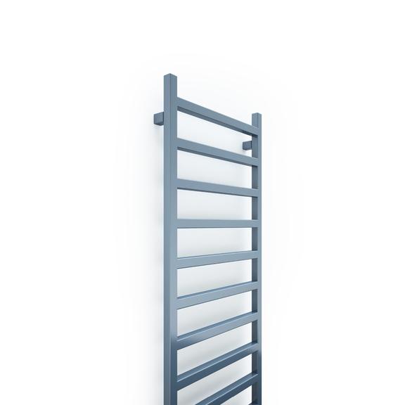TERMA Simple dizajnový radiátor 1440x500 farba RAL5014 rebrík detail