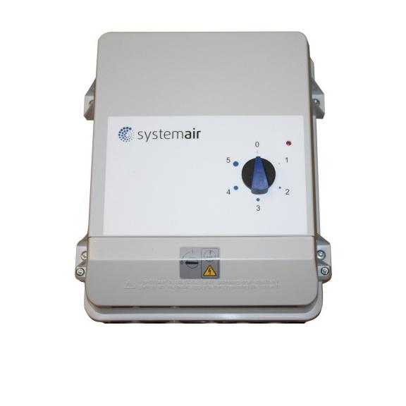 Systemair FRQ5S-E-6A frekvenčný menič pre kruhové ventilátory