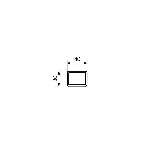 TERMA Angus DW dizajnový radiátor - schéma - rúrka