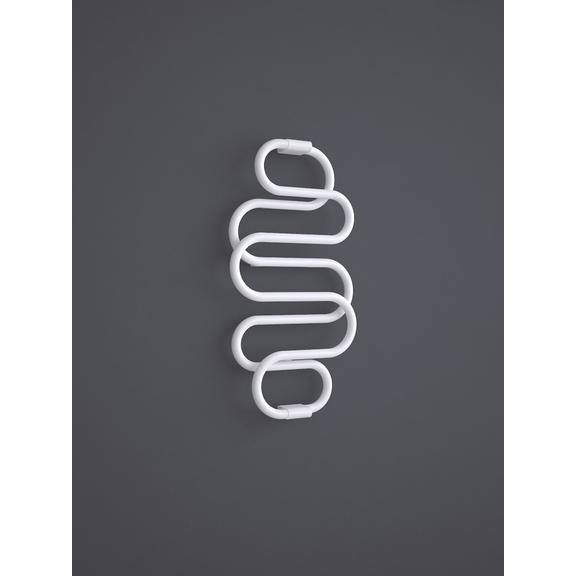 TERMA Perla dizajnový radiátor RAL 9016 960x500