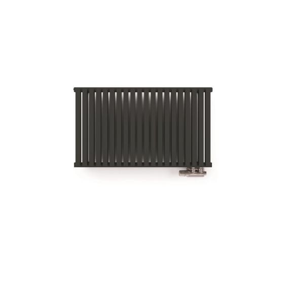 TERMA Nemo dizajnový radiátor 530x915 farba Metallic Grey