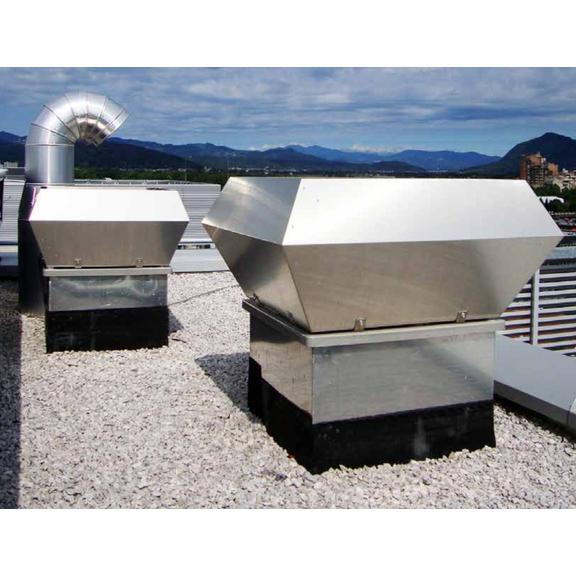 Systemair DVC/DVCI strešný ventilátor - využitie