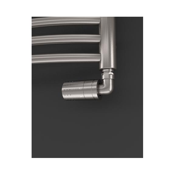 ISAN Silla Radius Inox nerezový radiátor detail