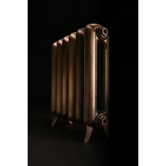 TERMA Plain retro radiátor farba Antique Brass