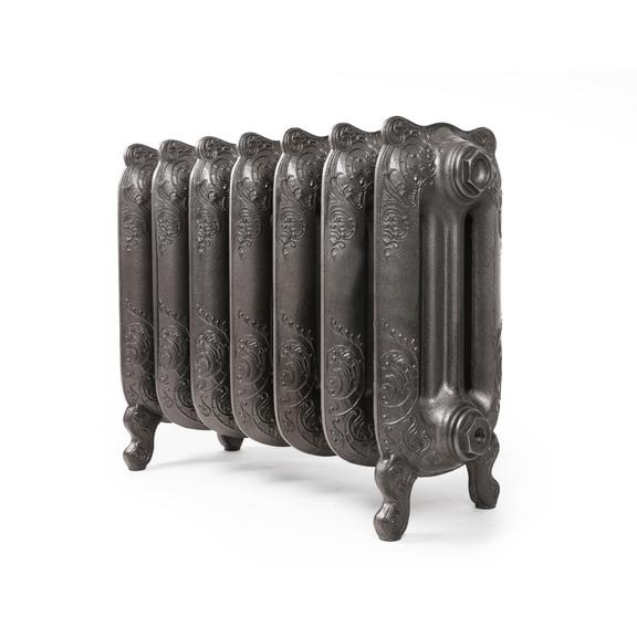 TERMA Oxford článkový radiátor 470x524 - Raw Metal