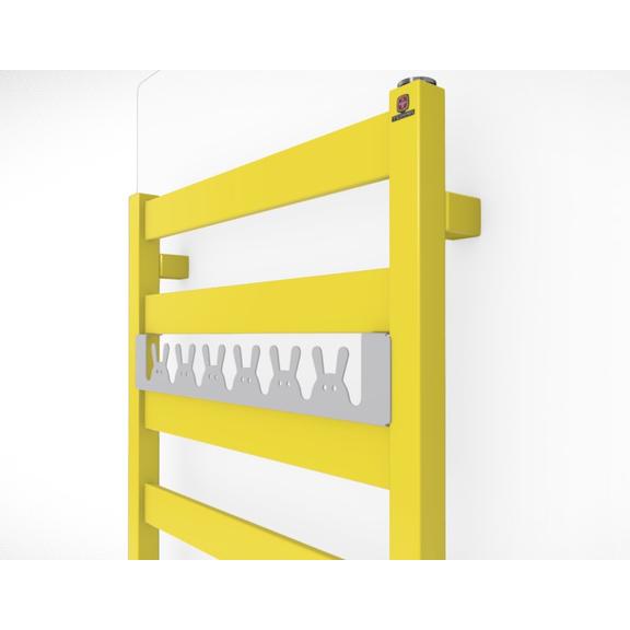 TERMA Vivo kúpeľňový radiátor farebné prevedenia RAL1016 happy rabit