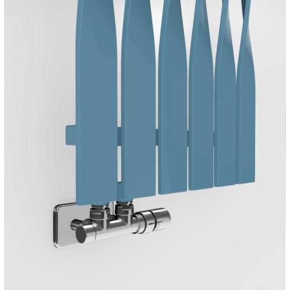 TERMA Cyklon V dizajnový radiátor -  farebné prevedenia RAL5024