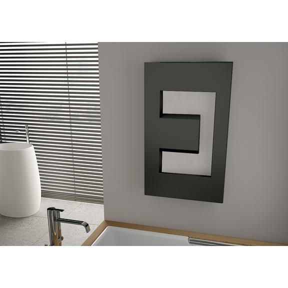 IRSAP Dedalo dizajnový radiátor 900x498 farebné prevedenia Special - Nero Grafite