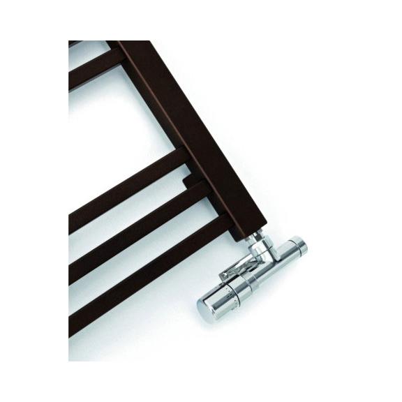 TERMA Bone kúpeľňový radiátor detail - Noble Brown