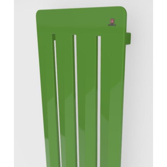 TERMA Aero V dizajnový radiátor - rôzne farebné prevedenia RAL6018 detail