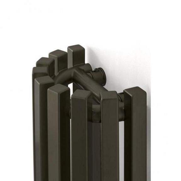 TERMA Triga AN dizajnový radiátor detail2
