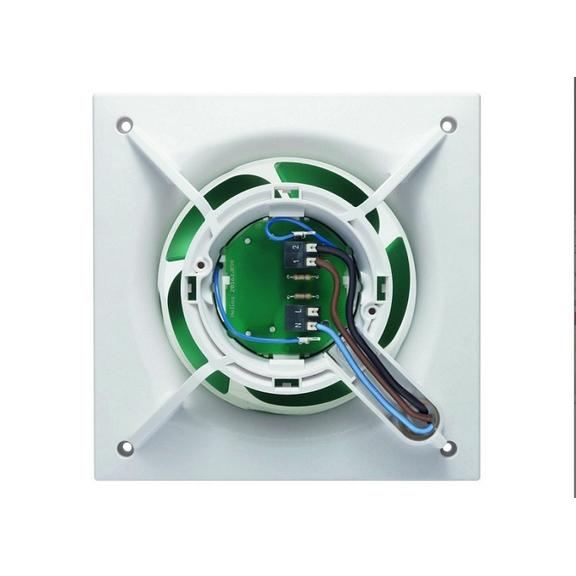 Helios MiniVent M1/100 dvojotáčkový štandardný ventilátor - kabeláž