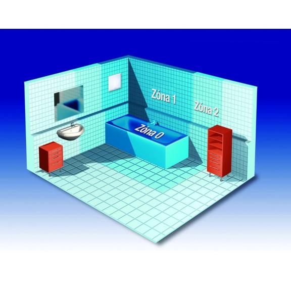 Helios ELS-V 60 jednootáčkový ventilátor bez dobehu - umiestnenie