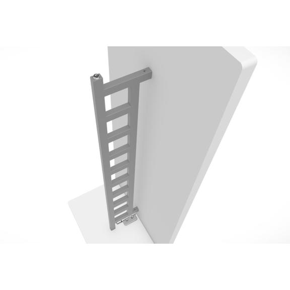 TERMA Easy DW vertikálny radiátor zboku