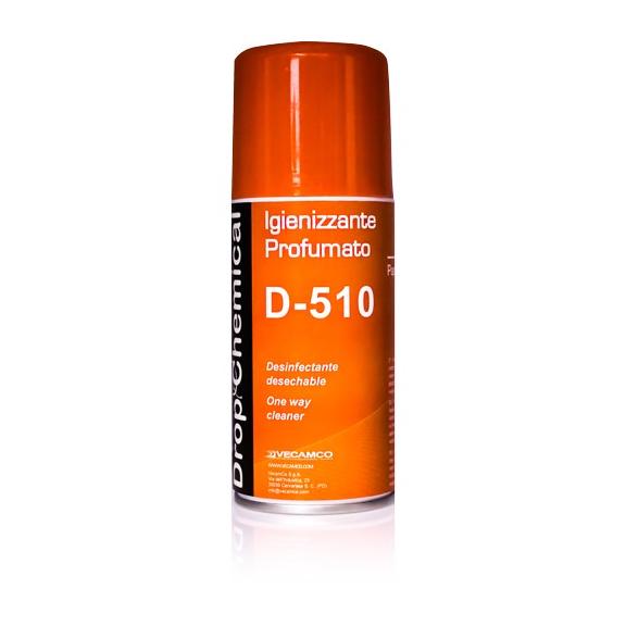 Vecamco D-510 parfumovaný dezinfekčný sprej do klimatizácie Papaya