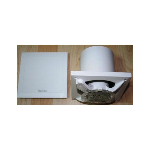 Helios MiniVent M1/100 N/C dvojotáčkový ventilátor s dobehom a interv. prevádzkou - kryt a ventilátor