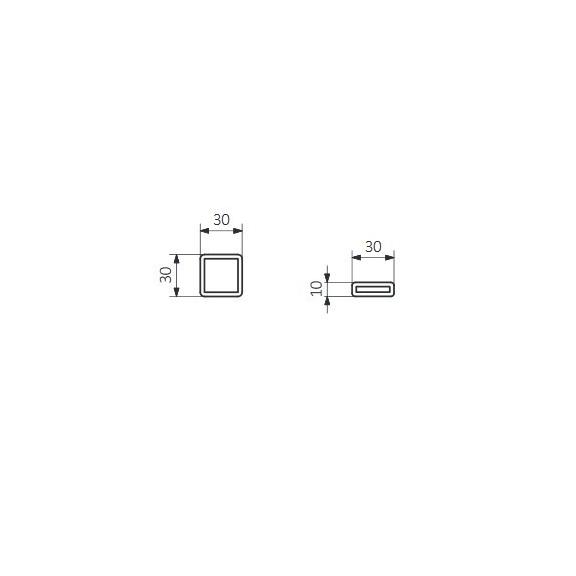TERMA Nemo dizajnový radiátor Schéma3