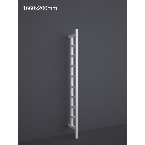 TERMA Easy DW vertikálny radiátor 1660x200 RAL 9016