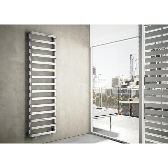 IRSAP Step B kúpeľňový radiátor 1720x500 farba Chróm