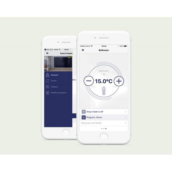Aplikácia Smart heater