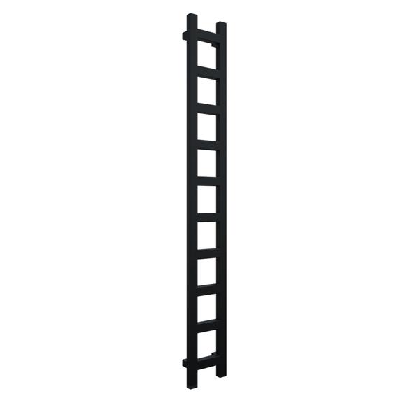 TERMA Easy One vertikálny radiátor 1600x200 Heban