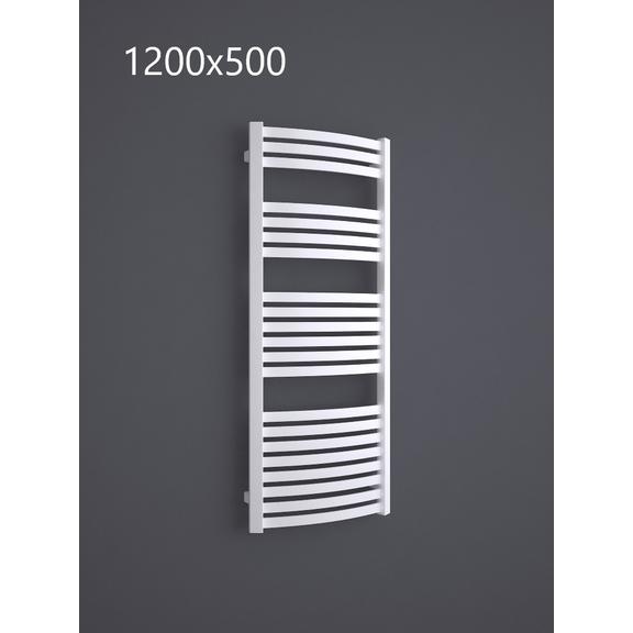 TERMA Dexter kúpeľňový radiátor RAL9016 1200x500