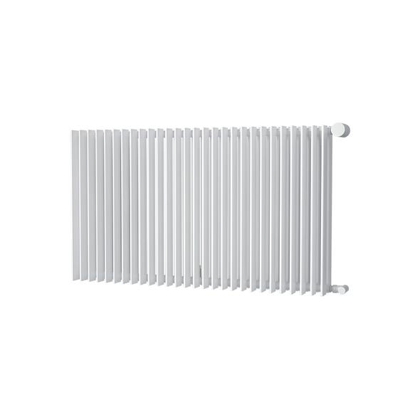 ISAN Antika Double Horizontal radiátor s vysokým výkonom 576x1000 - RAL9016