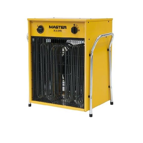 Master B 22 EPB profesionálny elektrický ohrievač s ventilátorom