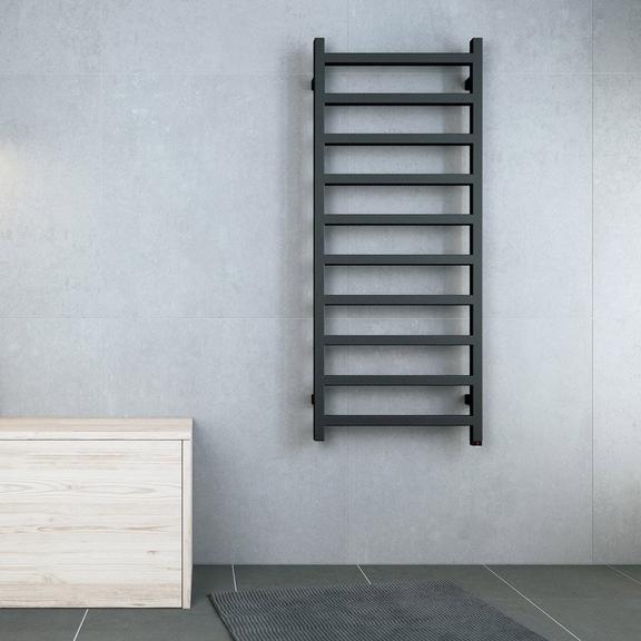 TERMA Simple dizajnový radiátor v modernom interiéri